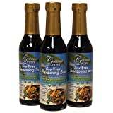 Coconut Secret, The Original Coconut Aminos, Soy-Free Seasoning Sauce, 8 fl oz (237 Milliliter) (3 Pack)