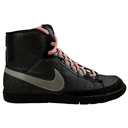 Nike - Blazer Mid Metro Gs - Couleur : Gris-Noir - Taille : 37.5