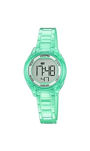 Calypso Reloj Digital para Mujer de Cuarzo con Correa en Plástico K5737/5: Amazon.es: Relojes