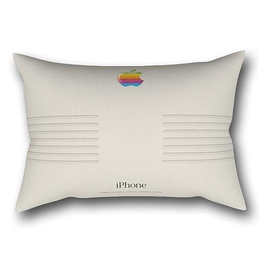 GYTOP Funda Cojín iPhone Macintosh Diseño Retro Funda De ...