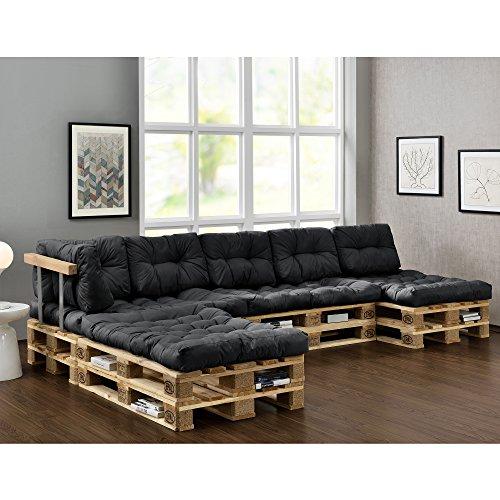 En Casa Euro Paletten Sofa Diy Mobel Indoor Sofa Mit Paletten