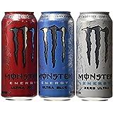 Monster Energy Monster Ultra Variety Pack, 24 Count
