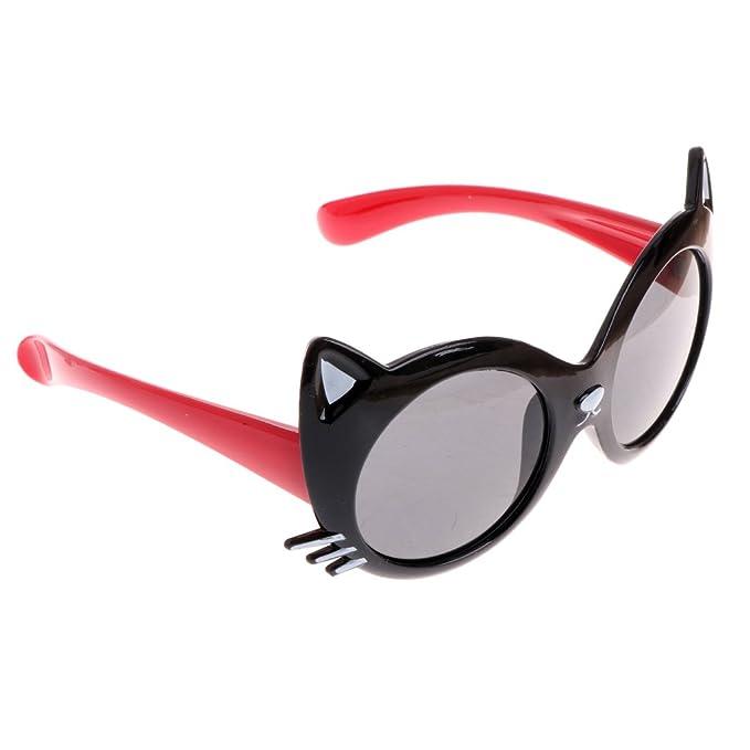 Amazon.com: bettal niños diseño de gato protección UV ...