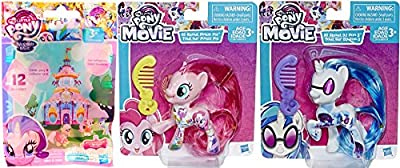 My Little Pony DJ Pon-3 & All About Pinkie Pie Movie Collection 2 Pack + MLP Friendship is Magic Blind Bag Mini Figure