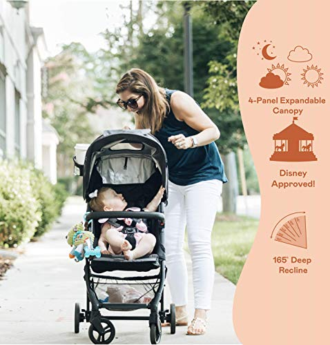 51PDP9eWluL - The Tour+ (Zoe XL1) - Best Everyday Single Stroller With Umbrella - Tandem Capable - UPF 50+ - Lightweight