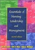 Essentials of Nursing Leadership and Management 9780803608177