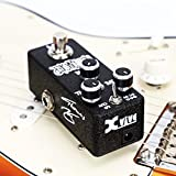 Overdrive Guitar Pedals, Effects Pedals Vacuum Tube Squasher Overdrive Full Metal Shell with Drive Level Control True Bypass