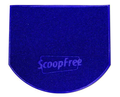 PetSafe ScoopFree Anti-Tracking Cat Litter Box Mat, Purple