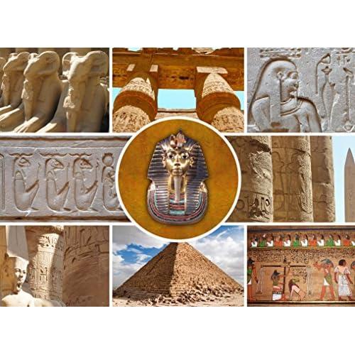 Grafika Kids Puzzle 300 pièces - Collage - Egypte