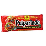 Pulparindo Extra Spicy Tamarind Pulp Candy 0.5-Ounce Bar 12 Count