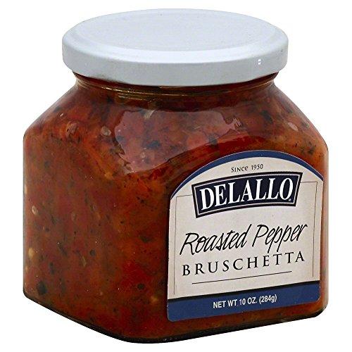 (DeLallo Roasted Red Pepper Bruschetta 10.0 OZ(Pack of 1))