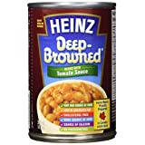 HEINZ Deep Brown Beans in Tomato Sauce, 398ml