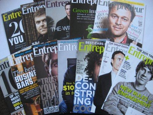 Entrepreneur Magazine Box-Set (January - December 2010, Volume 38 - Complete 2010 Boxed Set)