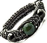 Energy Bracelet Shungite with Gemstone Beads - small wrist sizes (Jade Africa)