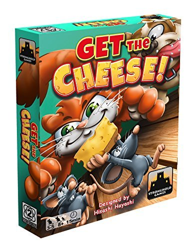 Stronghold Games Get The Cheese Board Games [並行輸入品] B07SB2C22V