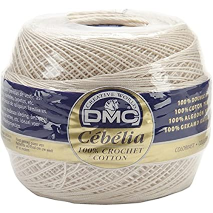 Amazoncom Cebelia Crochet Cotton Size 20 Ecru Arts Crafts Sewing