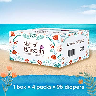 Natural Blossom - Disposable Hypoallergenic Easy Pull Up Pants Baby Diapers