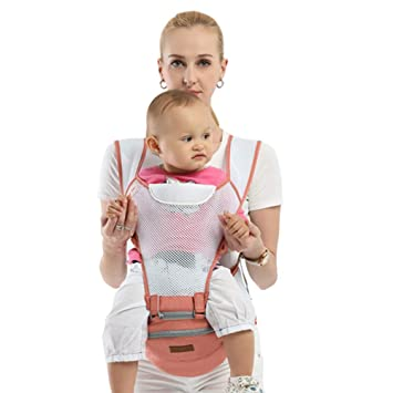 84811b7d8ff Edelehu Baby Carrier Breathable Mesh Cloth Travel Walk Cotton Baby Carrier  Comfortable And Ergonomic Child And