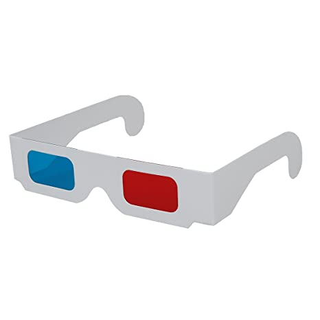di alta qualità top design scarpe a buon mercato occhiali 3D - TOOGOO(R) 10 paia di rosso / blu Cartone Occhiali 3D ...