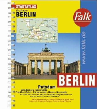 Falk Pläne Großraum Städteatlas Berlin Mit Potsdam