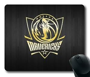 NBA Logo Dallas Mavericks Rectangle Mouse Pad by eeMuse