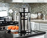 Hamilton Beach Single Serve Scoop Coffee Maker, Stainless...