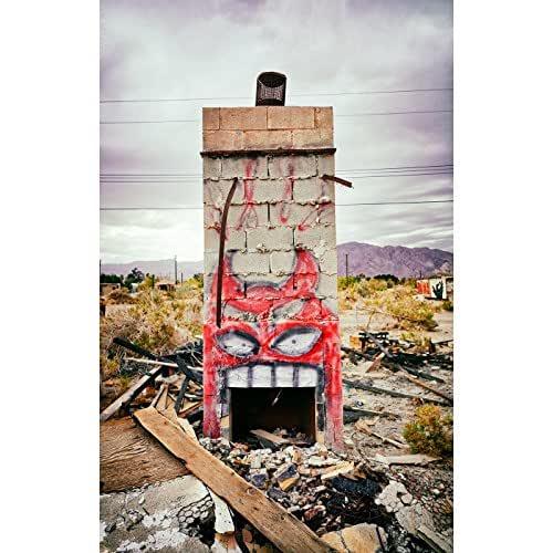 Amazon.com: Hungry Monster Graffiti Salton Sea California