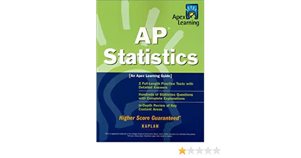 Amazon apex ap statistics apex learning 9780743201902 apex amazon apex ap statistics apex learning 9780743201902 apex learning books fandeluxe Images