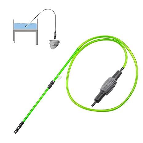 DJLOOKK Limpiador Grava Eléctrica Cambiador De Agua De Acuario - Limpiador De Grava De Tanque De Pescado ...