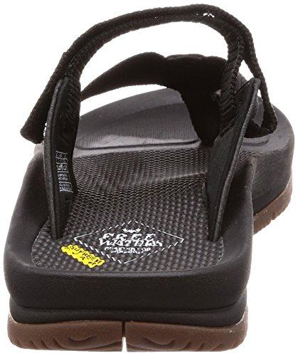 Mens Footwear Trifecta Freewaters Sandal Black 4qtdxPw