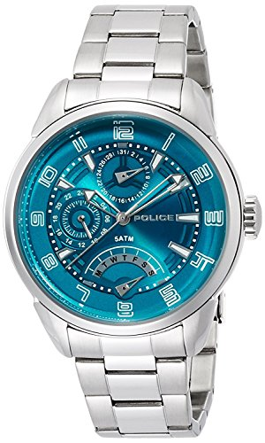 POLICE watch flash 10th Anniversary model 5 ATM water resistant 14407JS-19M Men's [regular imported goods]