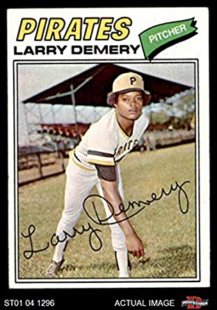 Amazoncom 1977 Topps 607 Larry Demery Pittsburgh Pirates