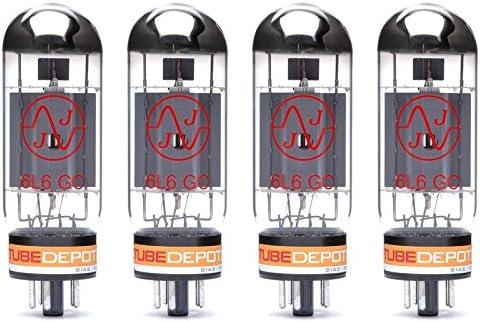 Quad of JJ 6L6GC Power Vacuum Tube