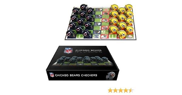 Chicago Bears Checker Set: Amazon.es: Deportes y aire libre