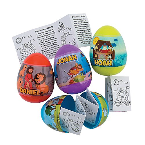 (Bible Story-Filled Plastic Easter)