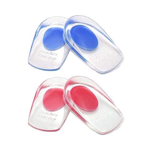 62ecd86b9384b7 2 paires de coussinets pour talon gel, coussinets en silicone pour  coupe-talon pour