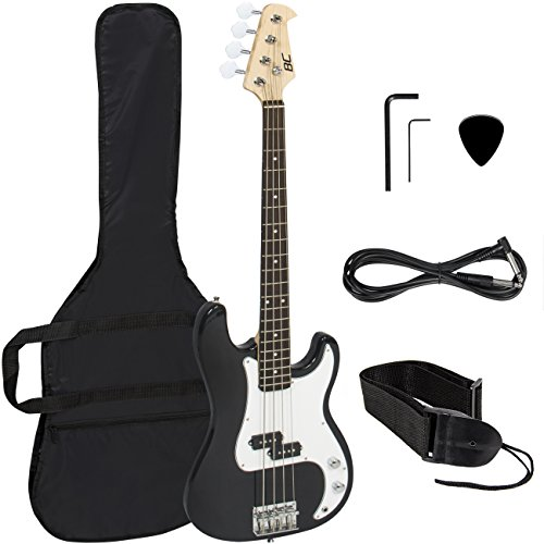 Black Electric Bass Guitar Strap