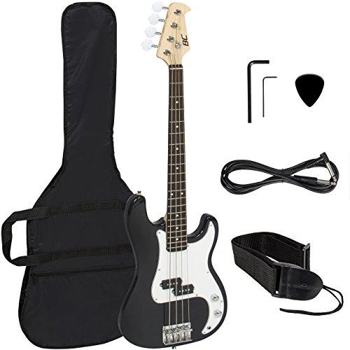 Black Electric Bass Guitar Strap