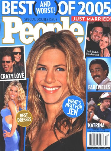 People Magazine - Best/Worst Year End, 2005 Issue (Time Magazine Worst Person Of The Year)