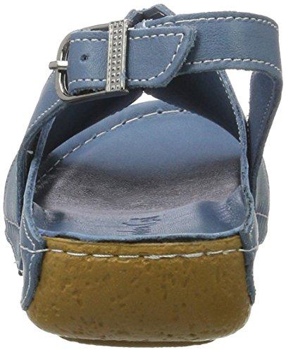 Damen Conti Andrea 0773426 Blau Jeans Sandalen zU0Zwq0