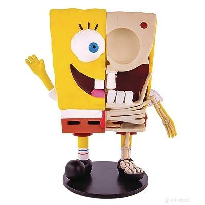 Mondo Spongebob Squarepants Dissected Vinyl Figure by Jason Freeny x: Toys & Games