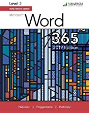 Benchmark Series: Microsoft Word 2019 Level 3: Text