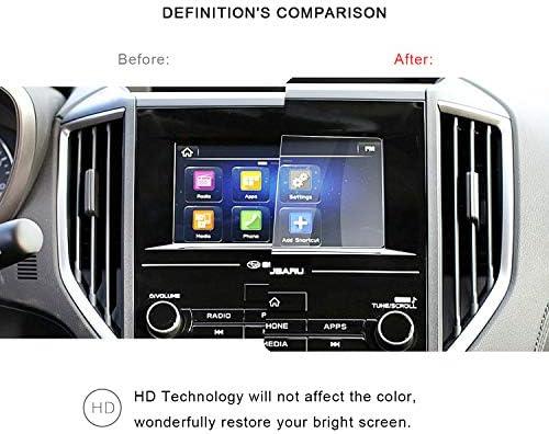 XHULIWQ スバルフォレスター2019用スクリーンプロテクターカーナビゲーションタッチセンターディスプレイ9H強化ガラス保護フィルム