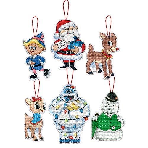 Dimensions Needlecrafts 70 08958 Rudolph Ornament product image
