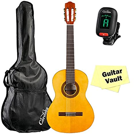 Protegido por Cordoba C1 3/4 tamaño guitarra clásica con bolsa de ...