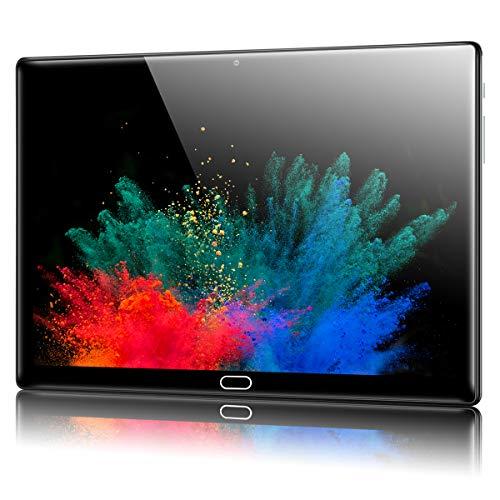 Padgene N10 Tablet 10,1 inch (25,54 cm), Android 10.0 ultradunne tablet, PC, Octa-Core, 128 GB uitbreidbaar tot 256 GB…