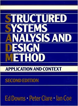 Book Structured Systems Analysis and Design Method: Application and Context