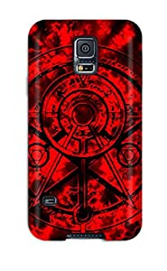 Josie Blaser's Shop Hot 2431704K92441569 Hot Black And Red First Grade Tpu Phone Case For Galaxy S5 Case Cover