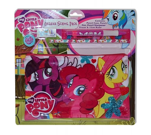 Character My Little Pony Deluxe School Pack Stationery