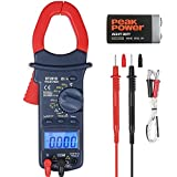 AstroAI Digital Clamp Meter, TRMS 6000 Counts Multimeter with Auto Ranging; Measures Voltage